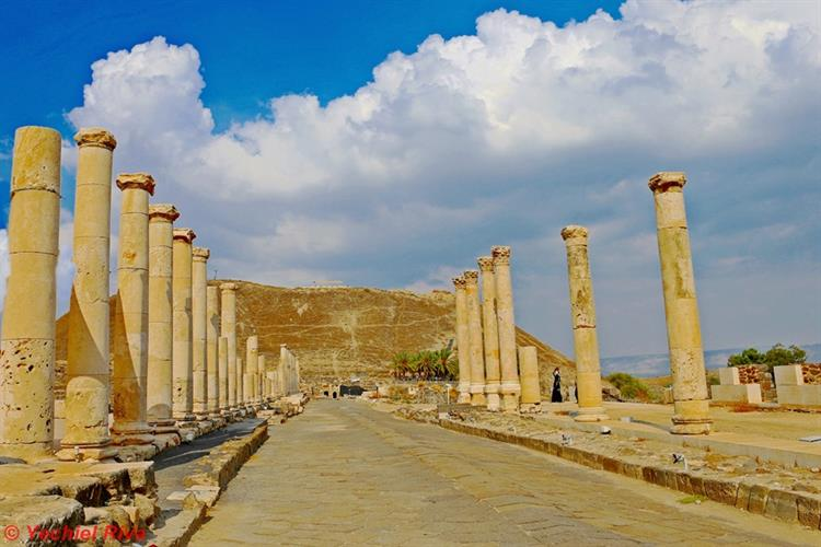 Support Israel and get this picture: Beit She'an