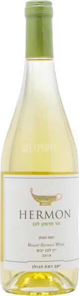 יין רמת הגולן הר חרמון לבן