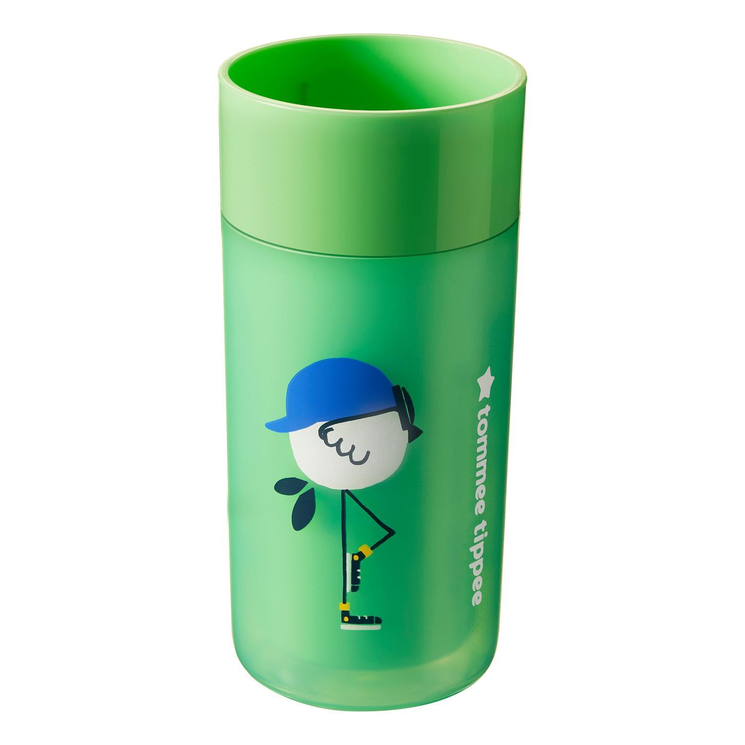 כוס 360 מבודדת 12+ ירוק