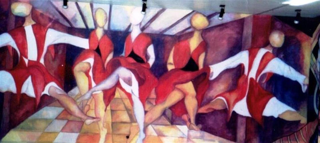 ציור קיר - המחוללות