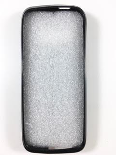 מגן סיליקון ל KOSHER MOBILE K21 בצבע שחור