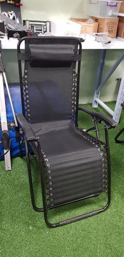 כיסא ימבה מצבים מתקפל צבע שחור