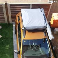 אוהל גג