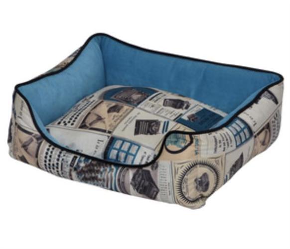 מיטת ניורק כחול לגזע קטן