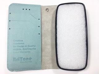 מגן ספר BriTone לנוקיה NOKIA 215 4G בצבע תורכיז
