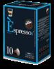 12 מארזים [120 קפסולות 1.2₪ ליח'] קפה אספרסו DECAF [כחול] נטול קפאין(תואמות Nespresso)