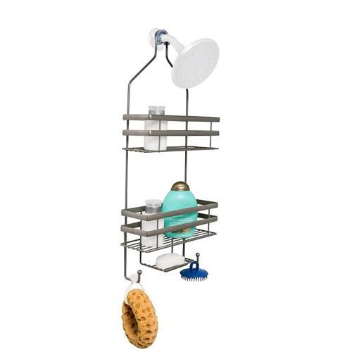 מתקן תלייה לשמפו וסבון במקלחת ללא ברגים דגם  BTH-08460