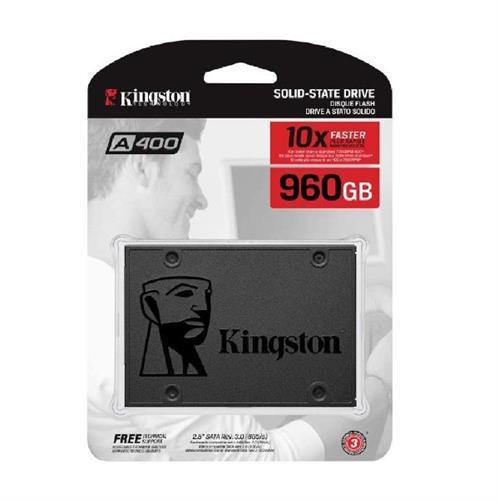 דיסק פנימי 2.5 Kingston A400 960GB SSD 3D NAND