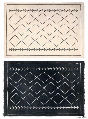 """שטיח דגם - """"מרקו פולו"""" בעיצוב גיאומטרי"""