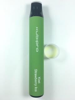 סיגריה אלקטרונית חד פעמית כ 2000 שאיפות Kubipro Disposable 20mg בטעם קיווי תות אייס Kiwi Strawberry