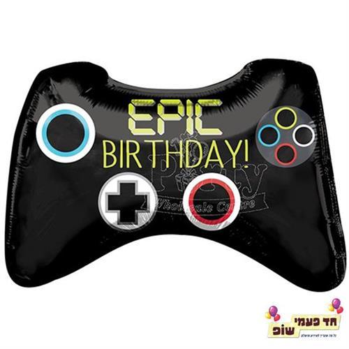 בלון 26 אינץ' Epic Birthday (ללא הליום)