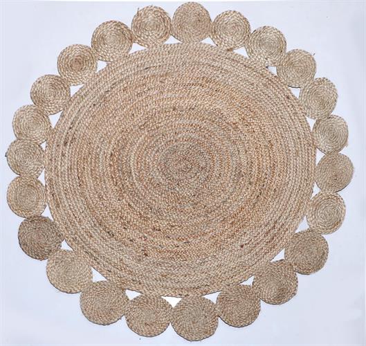 שטיח דגם - ריו דגם 05 חבל עבה בעבודת יד במבחר גדלים