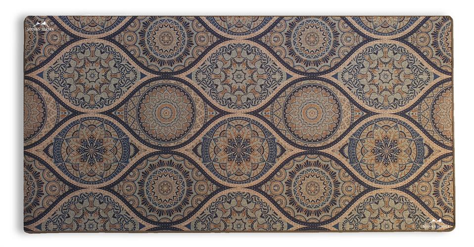 שטיח מטבח איכותי בתוספת גומי בתחתית דגם - 11 (מתנקה בקלות!)
