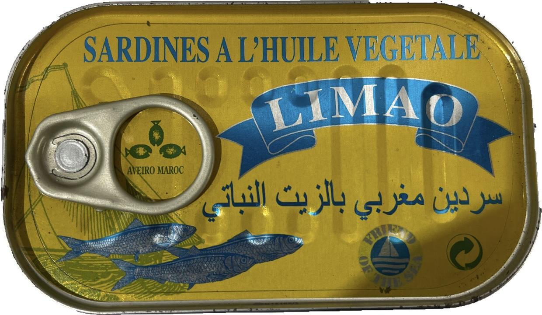 סרדין מרוקאי לימאו 125 גרם