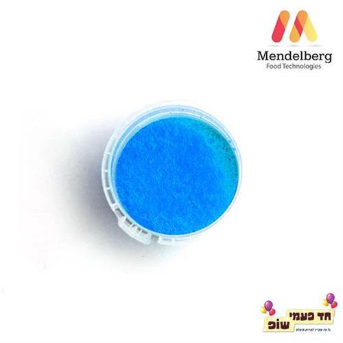 צבע מאכל מסיס שומן כחול