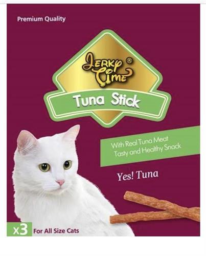 חטיף גרקי מקלות לחתול בטעם טונה 3 י״ח