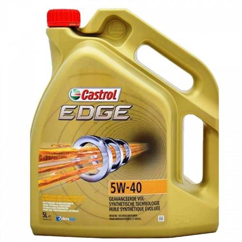 שמן מנוע 5 ליטר CASTROL EDGE 5W40