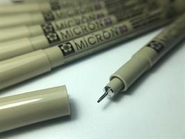 עט רפידוגרף מקצועי - 4 גוונים לבחירה - 0.3 לציור על ציפורניים