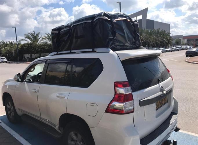 תיק גג צימידאן לגג הרכב שמשונית 490 ליטר ללא צורך בגגון וגם לבעלי גגון יתרון