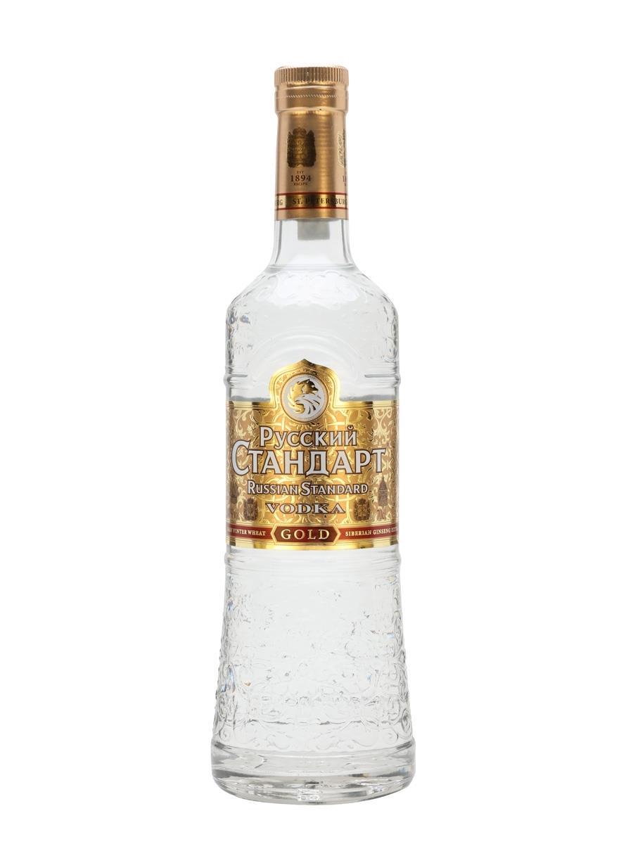 וודקה רוסקי סטנדרת גולד 1 ליטר