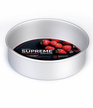 """תבנית עוגה תחתית נשלפת 9.5*22 ס""""מ גבוהה במיוחד food appeal- SUPREME"""