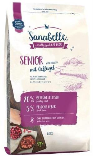 """4015598010535 מזון יבש לחתולים בוגרים 10 ק""""ג Sanabelle"""