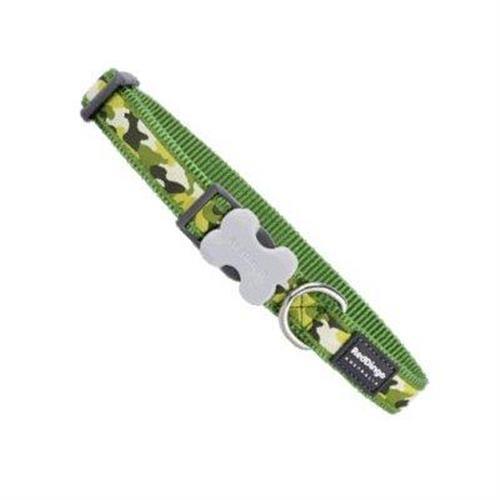 קולר מעוצב L ירוק צבאי
