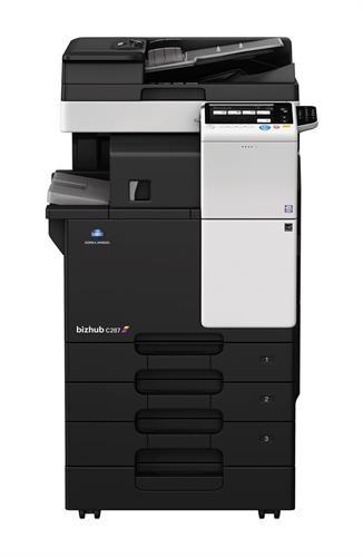 מדפסת משולבת A3 צבעונית דגם Minolta bizhub C-287