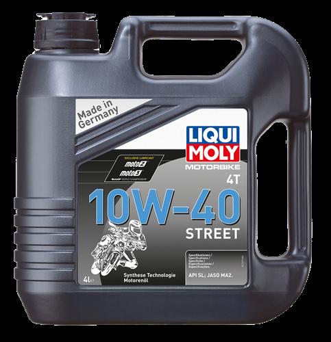 שמן לאופנוע 10W40  1 ליטר T4 LM