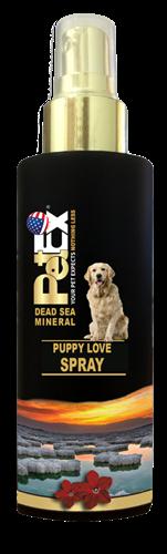 "PUPPY LOVE Aroma 100 מ״ל  בושם בניחוח ""אהבת גורים"" של פטקס מסדרת המינרלים של ים המלח"