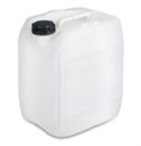 מיכל צבע שקוף לבן גריקן 18 ליטר עם פקק שחור מתאים למי שתיה
