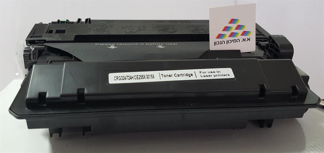 טונר תואם Canon CRG-724H / HP CE255X