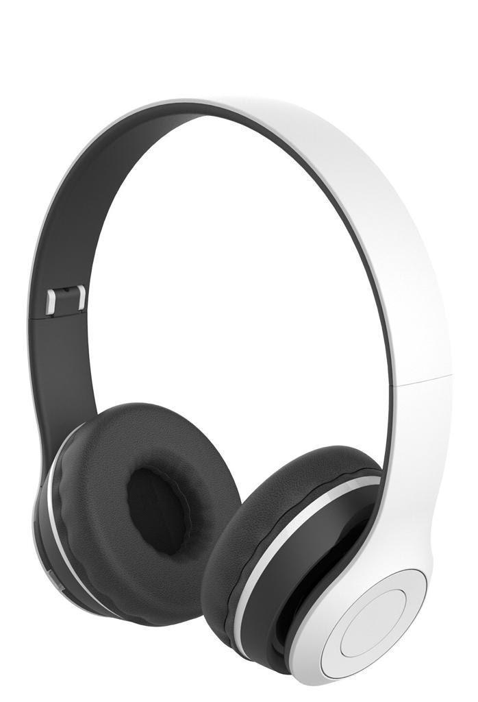 אוזניות קשת בלוטות' CYCLE בצבע לבן
