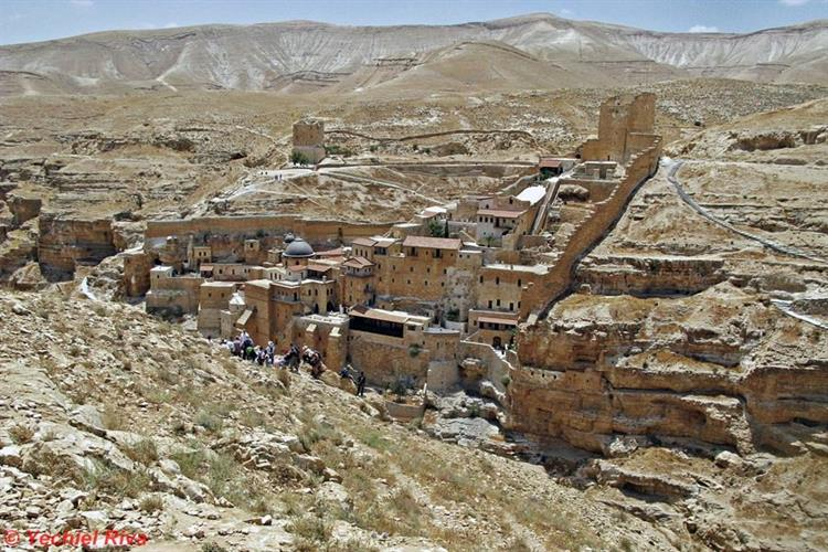 Support Israel and get this picture: Mar Saba