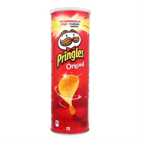 פרינגלס טעם טבעי אדום  165 גרם - מבצע 2 יחידות