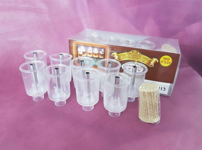 Пластиковые стаканчики для зажигания масла