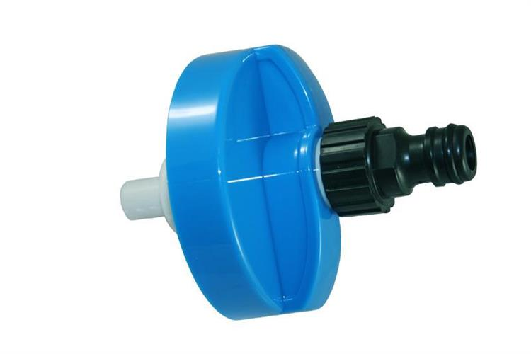 חיבור מים קבוע לקרוואן + מכסה ללא אל חזור HABA