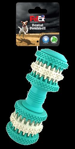 משחק דנטלי לכלב בניחוח מנטה מרענן לניקוי שיניים יסודי