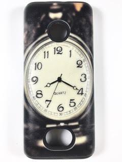 מגן סיליקון כפול לנוקיה 208 NOKIA דגם 'שעון'