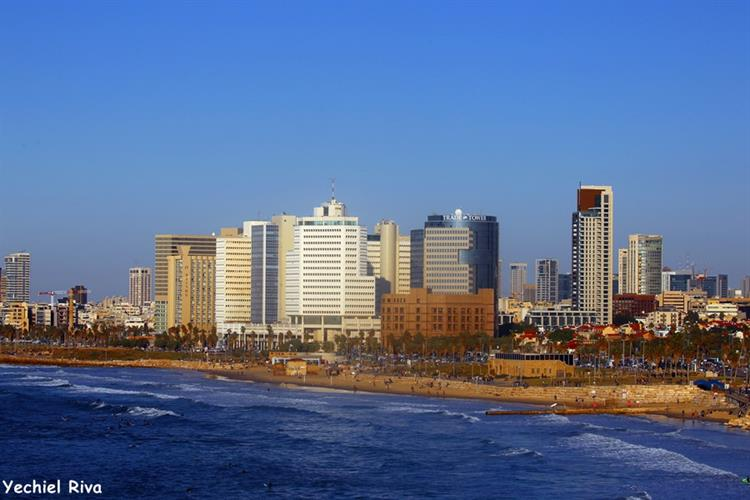 Support Israel and get this picture: Tel Aviv Promenade