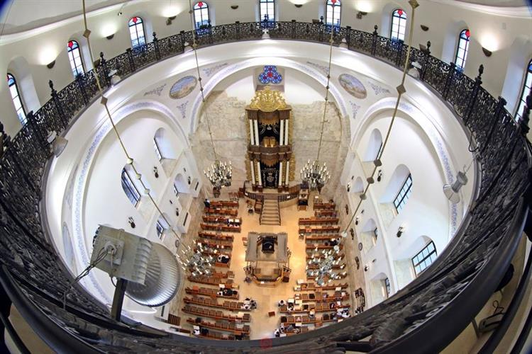 Support Israel and get this picture: The Hurva Synagogue