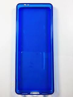 מגן סיליקון לשיאומי +XIAOMI QIN 1S בצבע כחול