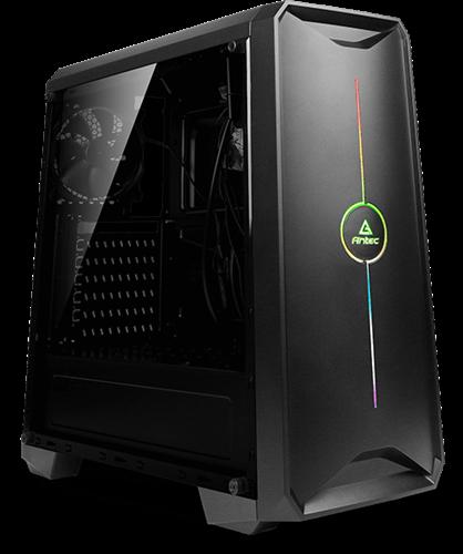 מארז ללא ספק ANTEC NX200 GAMING CASE RGB STRIPE