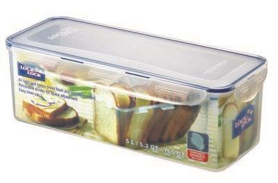 קופסאת אחסון ללחם 5 ליטר דגם LOCK&LOCK 849