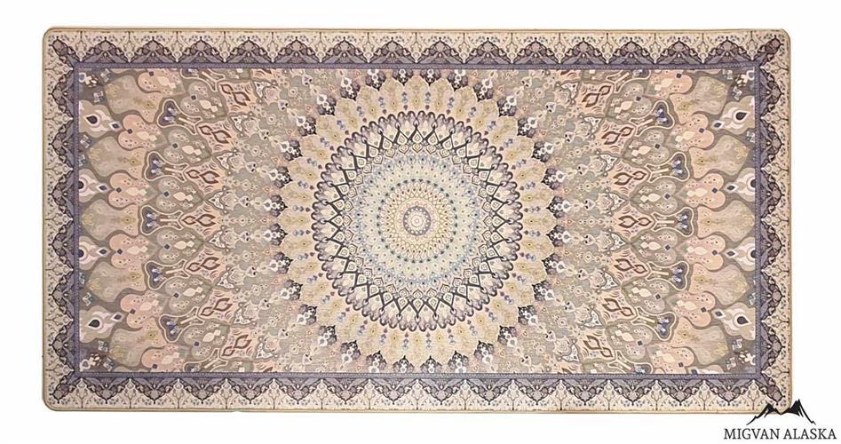 שטיח מטבח דגם - 210 מבד שאניל איכותי (מתנקה בקלות!)