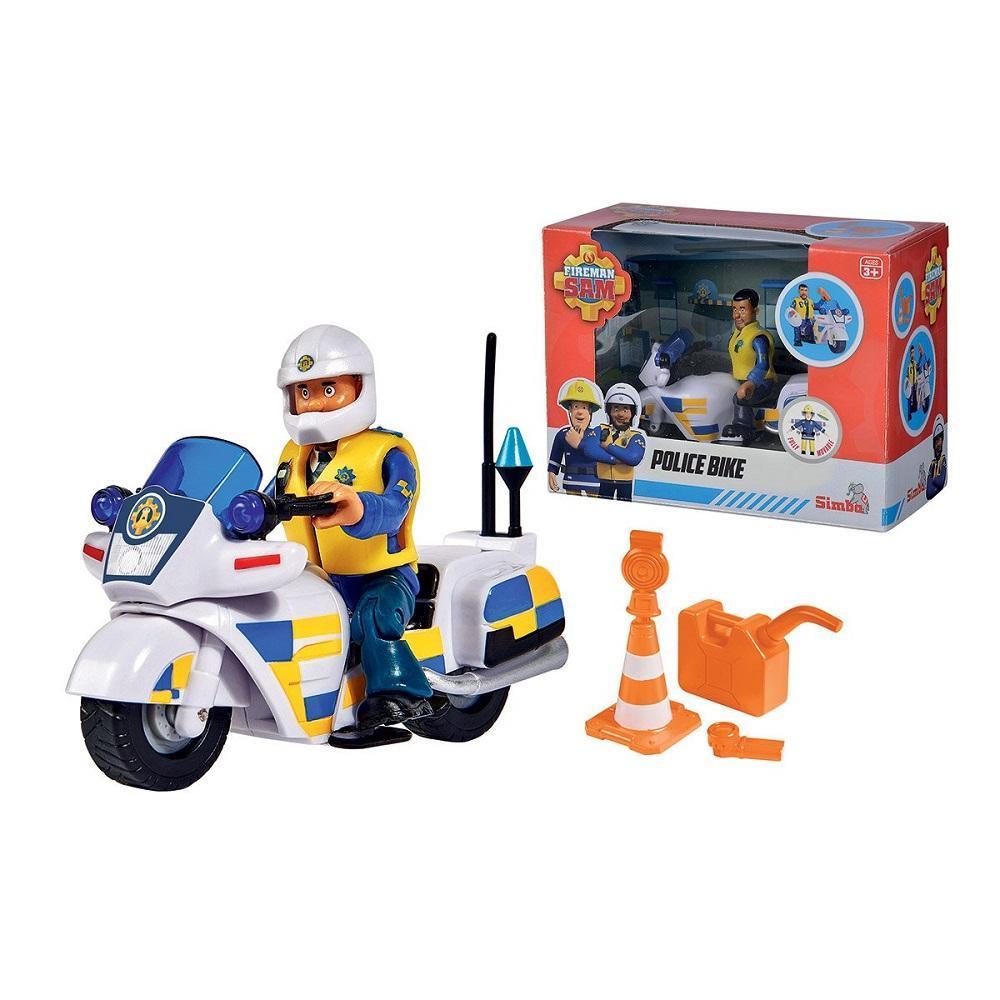 סמי הכבאי אופנוע משטרתי