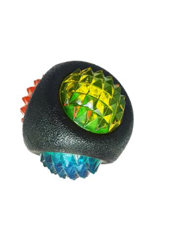 כדור LED לכלב צבע שחור