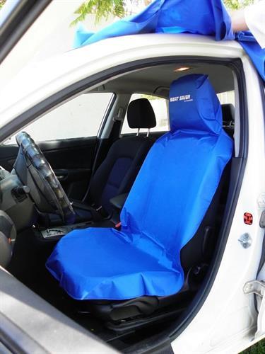 כיסוי הגנה נגד לכלוך ומים למושב הרכב צבע כחול