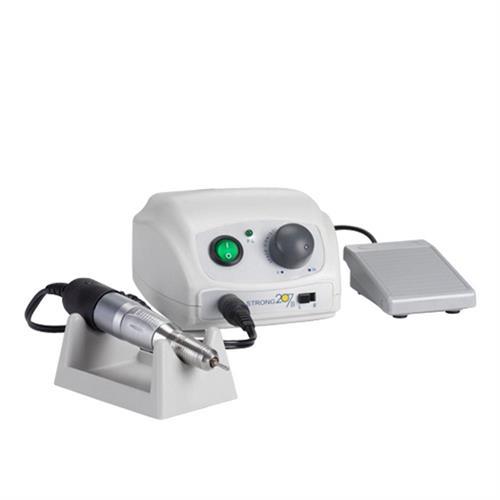 מכונת שיוף סטרונג 207b+ מנורת ייבוש סאן2+ 2 ראשי מניקור
