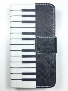 מגן ספר לסמסונג E3300 3G דגם פסנתר
